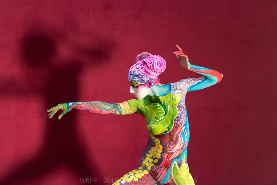 Bodypainting realiste