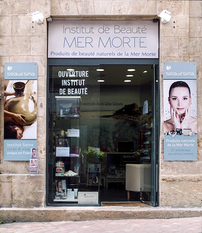 Institut de beauté mer Morte à Bordeaux