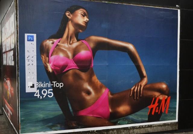 Daniel Soares affiche H&M Photoshop
